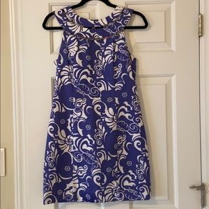 Lilly Pulitzer Blue and White Nautical Dress